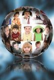 Esfera da imagem do retrato fotos de stock royalty free