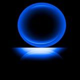 Esfera da luz efervescente Foto de Stock