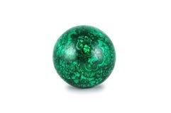 Esfera da malaquite. Imagem de Stock Royalty Free