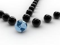 Esfera da terra ilustração do vetor