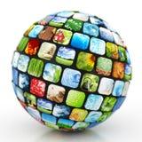 Esfera das imagens Fotografia de Stock