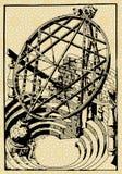 Esfera de Armilar Fotografía de archivo libre de regalías