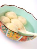 Esfera de arroz chinesa de Glutenous Foto de Stock