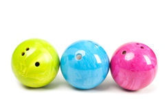 Esfera de bowling Fotografia de Stock Royalty Free