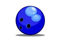 Esfera de bowling Foto de Stock Royalty Free