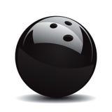 A esfera de bowling ajustou 1 Foto de Stock