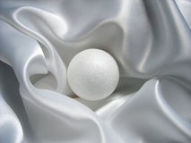 Esfera de brilho branca Fotos de Stock