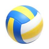 Esfera de couro do voleibol Foto de Stock Royalty Free