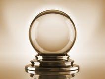 Esfera de cristal ilustração royalty free