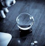 Esfera de cristal Foto de Stock Royalty Free