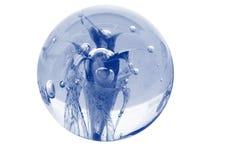 Esfera de cristal Imagen de archivo libre de regalías
