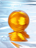 Esfera de cristal abstrata Imagens de Stock Royalty Free