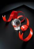 Esfera de cristal da terra Imagem de Stock