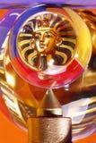 Esfera de cristal e Pharaoh Fotografia de Stock