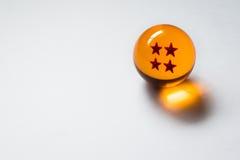 Esfera de cuatro estrellas de Dragon Ball Z imagen de archivo