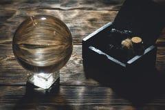 Esfera de Cystal fotografia de stock