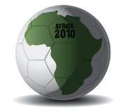 Esfera de futebol África 2010 Ilustração Royalty Free