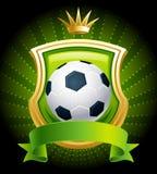 Esfera de futebol Foto de Stock Royalty Free