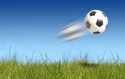 Esfera de futebol. Imagens de Stock Royalty Free