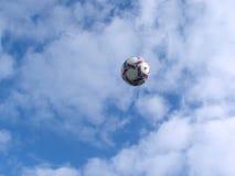Esfera de futebol Imagens de Stock Royalty Free