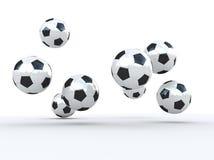 Esfera de futebol ilustração do vetor