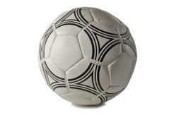 Esfera de futebol, isolada em um fundo branco imagens de stock
