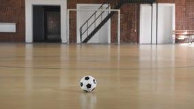 Esfera de futebol no campo filme