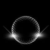 Esfera de golfe ilustração royalty free