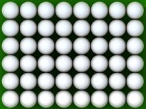 Esfera de golfe 48 ilustração do vetor