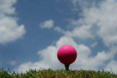 Esfera de golfe Fotos de Stock