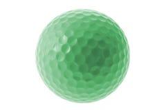 Esfera de golfe verde Imagem de Stock Royalty Free