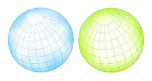 Esfera de Grided ilustração stock