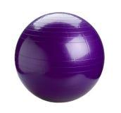 Esfera de Gyms na cor violeta foto de stock royalty free