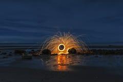 Esfera de incêndio Fotografia de Stock
