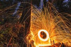 Esfera de incêndio Foto de Stock