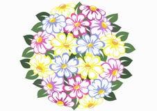 Esfera de la flor Foto de archivo libre de regalías