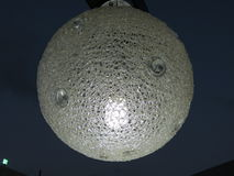 Esfera de la lámpara Foto de archivo