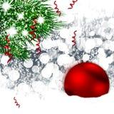 Esfera de la Navidad ilustración del vector