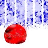 Esfera de la Navidad Imagenes de archivo