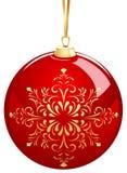 Esfera de la Navidad Fotografía de archivo libre de regalías