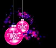 Esfera de la Navidad del vector. Fotografía de archivo libre de regalías
