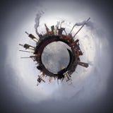 Esfera de la tecnología Fotos de archivo