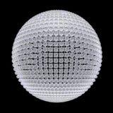Esfera de las esferas de cristal Stock de ilustración