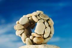 Esfera de pedra Imagem de Stock