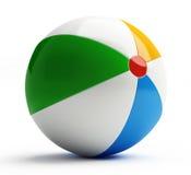 Esfera de praia Imagens de Stock Royalty Free