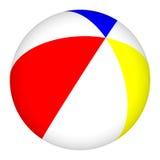 esfera de praia 3D isolada no fundo branco Foto de Stock Royalty Free