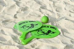 Esfera de praia Fotografia de Stock Royalty Free