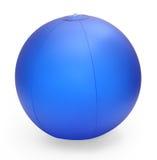 Esfera de praia inflável Fotos de Stock