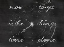 Esfera de reloj Fotografía de archivo
