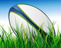 Esfera de rugby ilustração royalty free